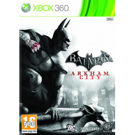 Xbox 360 Batman Arkham City Pre owned