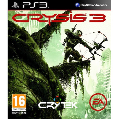 Ps3 Crysis 3 HUnter Edition Pre-Owned