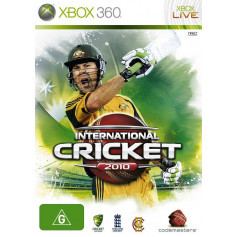 Xbox 360 International Cricket 2010 Pre Owned