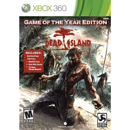 Xbox 360 Dead Island Game of the Year Edition