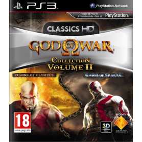 Ps3 God Of War Collection 2 Pre Owned