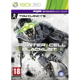 Xbox 360 Splinter Cell Blacklist