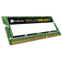 Corsair CMSo8GX3M1C1600C11 valueselect 8Gb DDR3L-1600 so-dimm Notebook Memory Module