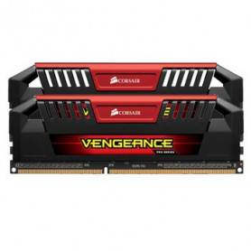 Corsair CMY8GX3M2B2933C12R VengeancePro black PCB+heatsink with Red accent 4Gb ddr3-2933 x 2 Desktop Memory Kit
