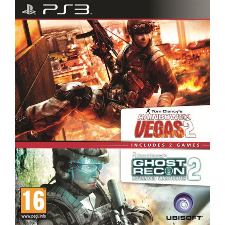 Ps3 Rainbow 6 Vegas 2 + Ghost Raw2