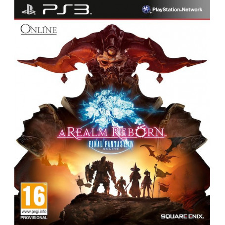 Ps3 Final Fantasy Xvi A Realm Reborn