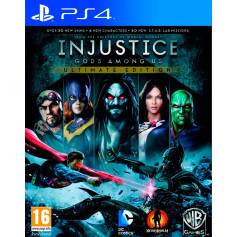 Ps4 Injustice Gods Among Us Pre Owned