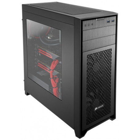 Corsair obsidian series 450D Windowed side panel Black Case