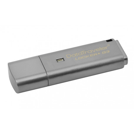 Kingston Datatraveler Locker Plus G3 USB 3.0 64GB Flash Drive