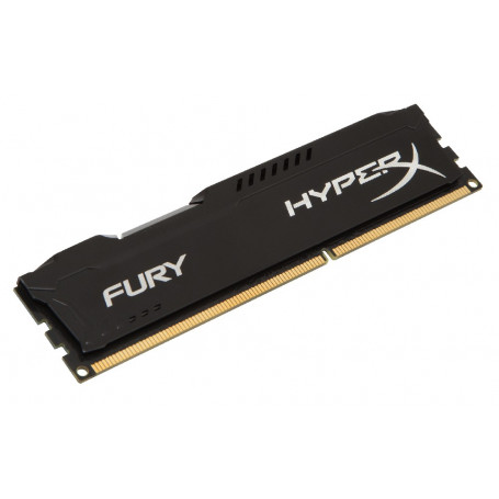 Kingston hyper-x Fury with blacK heatsink 4Gb ddr3-1600 Desktop Memory Module