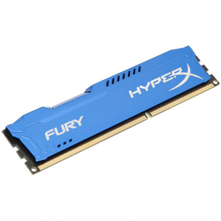 Kingston hyper-x Fury with Blue heatsink 8Gb ddr3-1600 Desktop Memory Modules