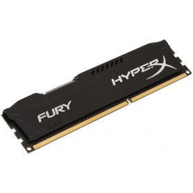 Kingston hyper-x Fury with blacK heatsink 8Gb ddr3-1600 Desktop Memory Module