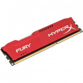 Kingston hyper-x Fury with Red heatsink 8Gb ddr3-1600 Desktop Memory Module