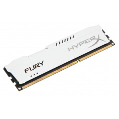 Kingston hyper-x Fury with White heatsink 8Gb ddr3-1600 Desktop Memory Module