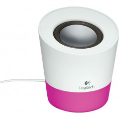 Logitech Z50 multi-media White with Pink highlight speaker