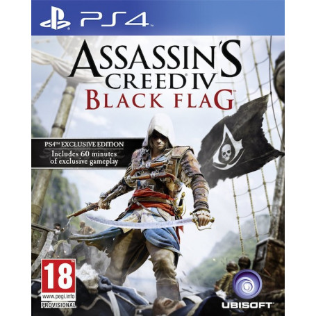 Ps4 Assassins Creed Black Flag Pre Owned