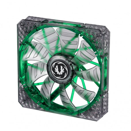 Bitfenix Spectre Pro Led transparent with Green led 140mm Fan