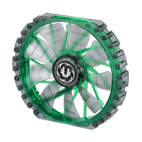 Bitfenix Spectre Pro Led transparent with Green led 230mm Fan