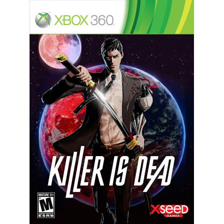 Xbox 360 Killer Is Dead Pre Owned