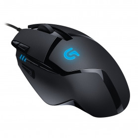 Logitech G402 optical Black and Blue Gaming Mouse