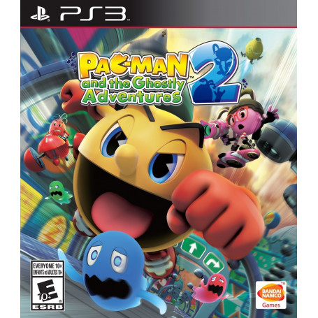 Ps3 Pac-man And The Ghostly Adventures 2