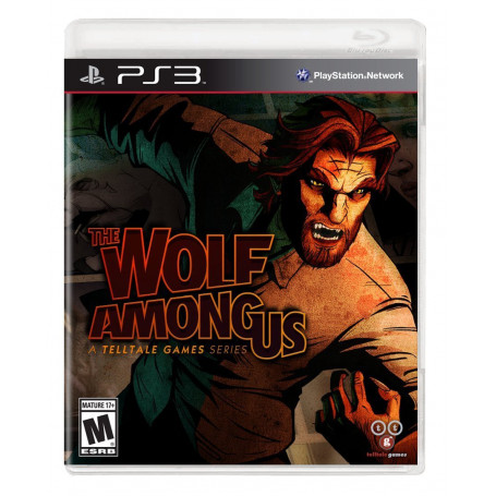 PS3 The Wolf Among Us