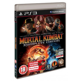 Ps3 Mortal Kombat Komplete Edition
