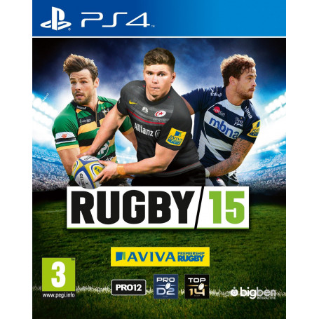 Ps4 Rugby 15 Pre Owned