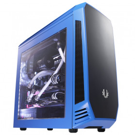 Bitfenix AEG-300-BKWL1 AEgis - bLue + Windowed + Icon disply