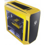 Bitfenix AEG-300-YKWN1 AEgis core - Yellow + Windowed + Icon disply