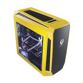 Bitfenix AEG-300-YKWL1 AEgis - Yellow + Windowed + Icon disply