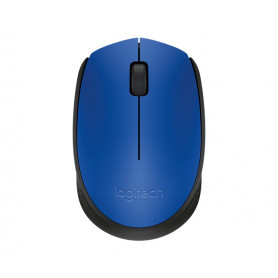 7b56f6e244f Logitech 910-004640 M171 cordless notebook mouse, Black + bLue highlight