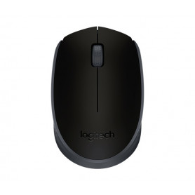 5c8a7ded715 Logitech 910-004424 M171 cordless notebook mouse, Black + Black highlight