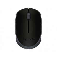 Logitech 910-004424 M171 cordless notebook mouse, Black + Black highlight
