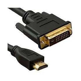 HDMi to DVi CAble ( for vga card with HDMi ) - 5m - bulk pack