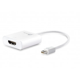 J5create JDA152 Mini DisplayPort to HDMi adapter 100mm cable