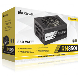 Corsair RMi Series 850 Watt 80 PLUS Gold Certified Fully Modular PSU