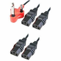 4 way 4.8m power cable - Dedicated