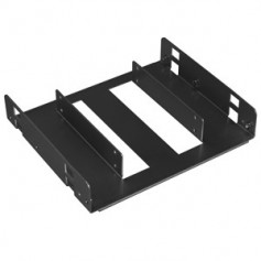 "Lian-li Black 2x 2.5"" hdd/ssd to 5.25"" mounting frame"