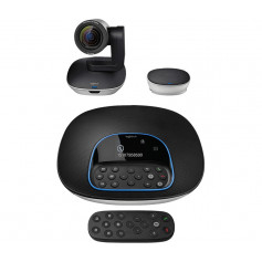 Logitech 960-001057 Group video conferencing system ( camera+ speakerphone+ hub+ expansion mic )