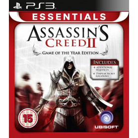 PS3 Assassins Creed 2 Essentials