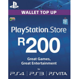 PlayStation Store Wallet Top Up R200