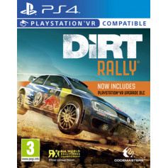 Ps4 DiRT Rally (PlayStation VR Compatible)