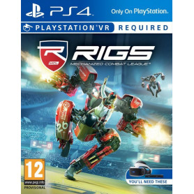Ps4 RIGS: Mechanized Combat League (PlayStation VR Required)