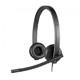 Logitech H570E Stereo ( double-ear ) headset