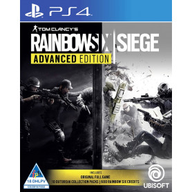 PS4 RAINBOW SIX SIEGE: ADVANCED EDITION