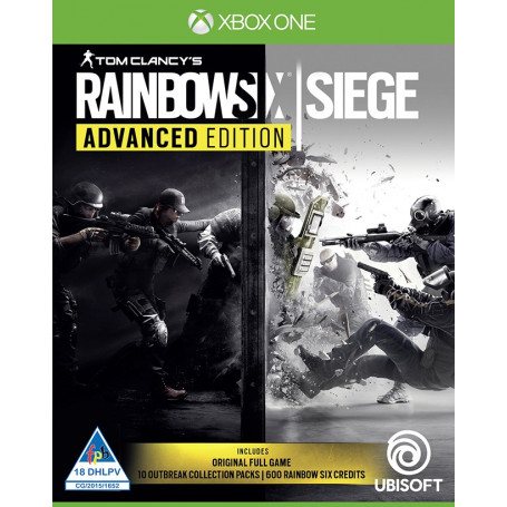 xbox one rainbow six siege advanced edition. Black Bedroom Furniture Sets. Home Design Ideas