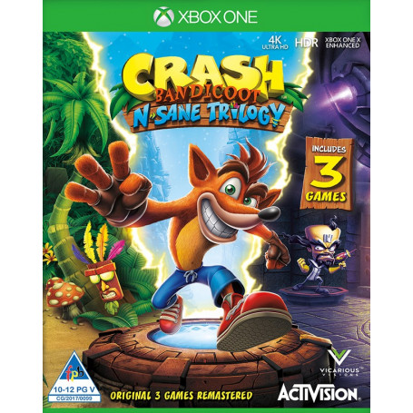 Xbox One Crash Bandicoot N. Sane Trilogy