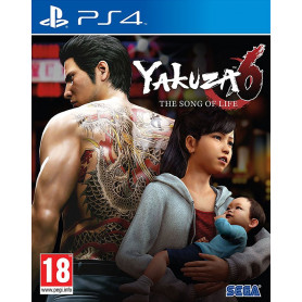 PS4 YAKUZA 6: SONG OF LIFE LIMITED EDITION