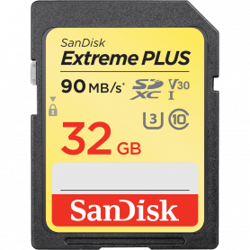 SanDisk® Extreme PLUS SDHC Card 32GB